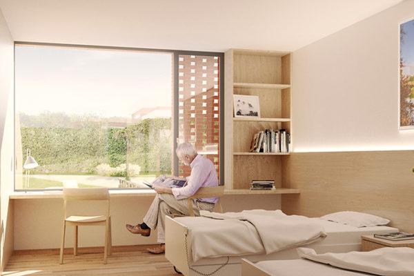 Habitació amb ambient càlid