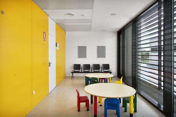 Sala d'espera pediatria