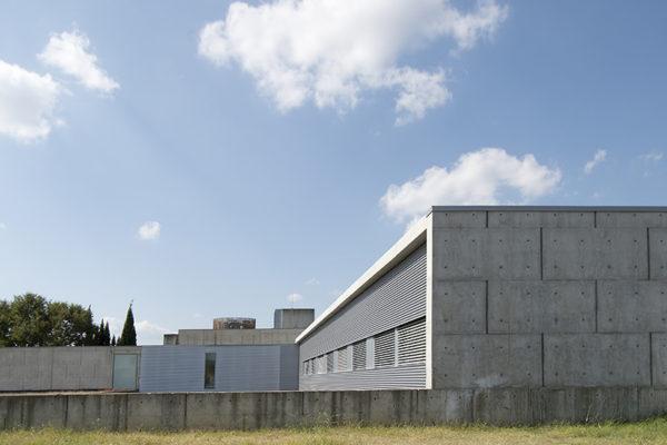 Façana sud de l'edifici